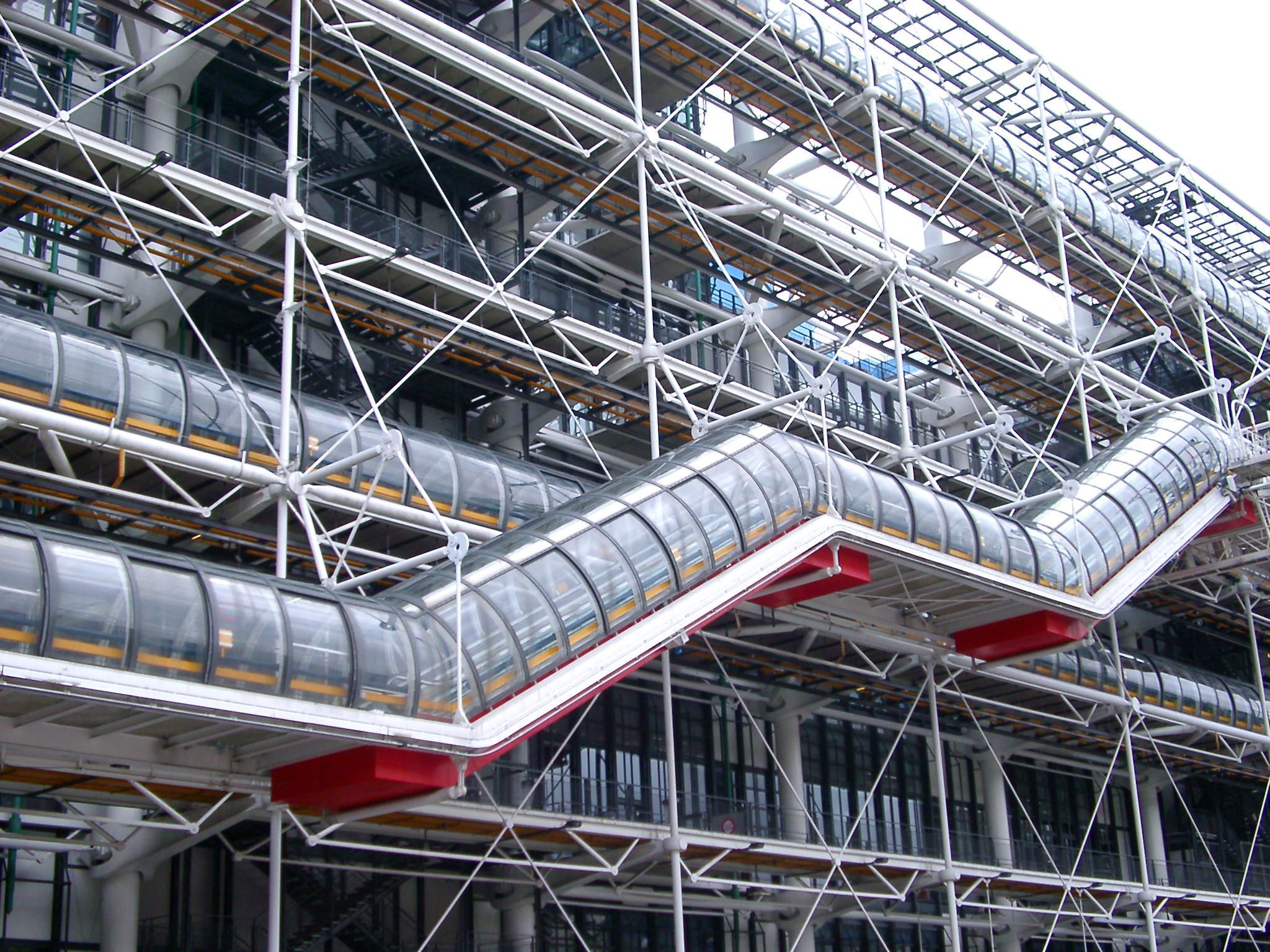 High Tech Architektur: Centre Pompidou: 6 Redenen Waarom Je Ervan Zal Houden