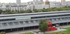 Uitzicht vanaf het Belvédère van de Philharmonie de Paris (19e arr)