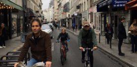 Fietsstad Parijs