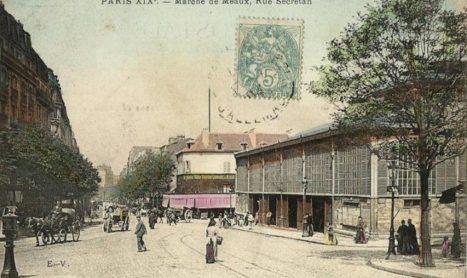 Halle Secrétan (19e arr)
