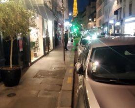 Avond in de rue Saint Dominique