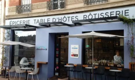 Lunchen op Montmartre bij Jeanne B