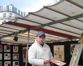 Nederlandse kunstenaars in Parijs; Jos Verheugen