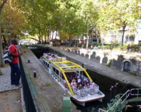 Schutsluis Canal Saint Martin