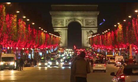 De kerstlichtjes in Parijs 2020