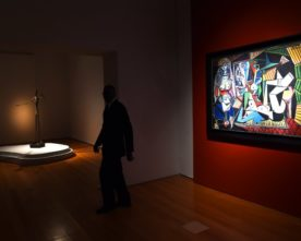 Picasso en Giacometti