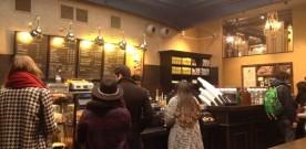 Wifi & koffie bij de Amerikanen !