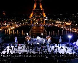 Kerst attracties in Parijs