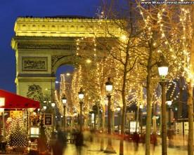 Eerste kerstdag in Parijs