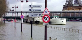 Hoog water in Parijs
