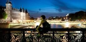 Fietsen over verkeersvrije boulevards in Parijs ?