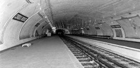 Spookmetrostations van Parijs