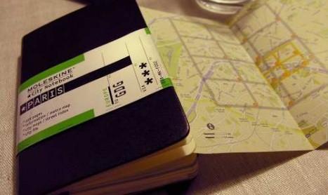 Moleskine City Notebook Parijs
