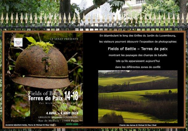Foto s aan de hekken van het luxembourg parijsmagazine - Jardin du luxembourg exposition ...